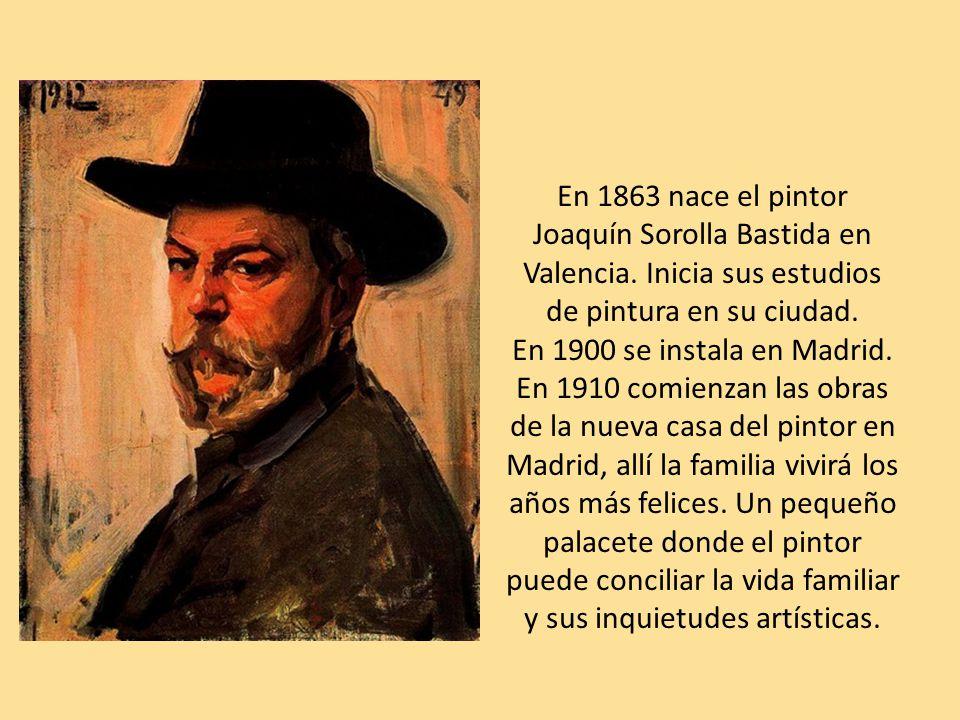 En 1863 nace el pintor Joaquín Sorolla Bastida en Valencia.