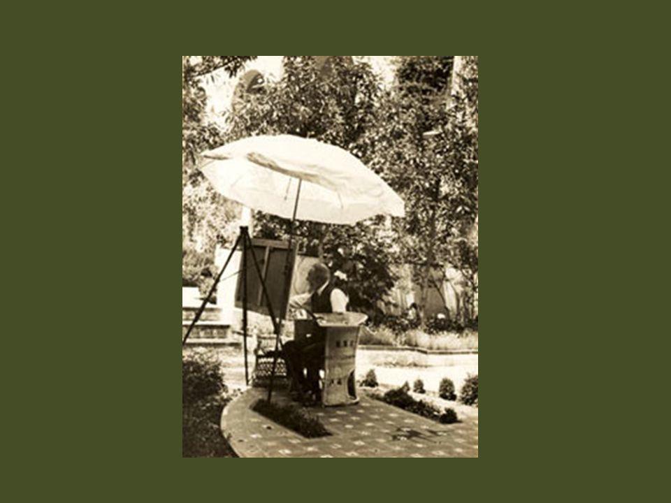 Clotilde 1922 En el jardín Joaquín Sorolla