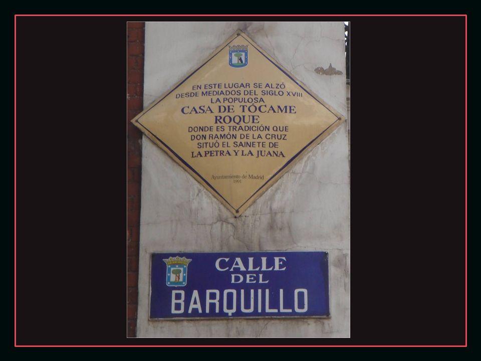 En 1849 el Ayuntamiento ordenó su derribo para destaponar la calle Barquillo y comunicarla con la perpendicular Fernando VI.