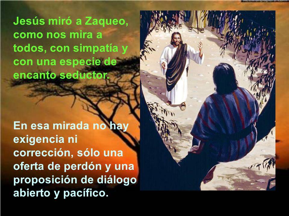 Jesús no vino a condenar sino a salvar lo que estaba perdido. Lo malo es cuando la miseria no quiere encontrarse con la misericordia.
