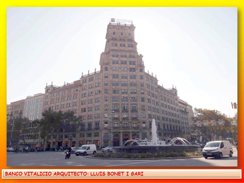 EL PALACIO MARCET, DE JOSEP RODRIGUEZ I LLOVERAS, EN 1960 SE CONVIRTIÓ EN CINE CON EL NOMBRE DE CINE COMEDIA