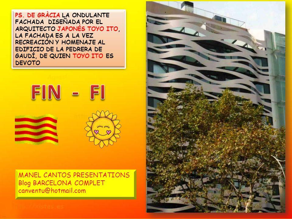 CASA MILÁ – LA PEDRERA – EL DESVÁN Y GOLFAS REALIZADAS CON 270 ARCOS CATENARIOS. EL DESVÁN ES UNA ORIGINAL SOLUCIÓN DE ESPACIO QUE SOPORTAN LA CUBIERT