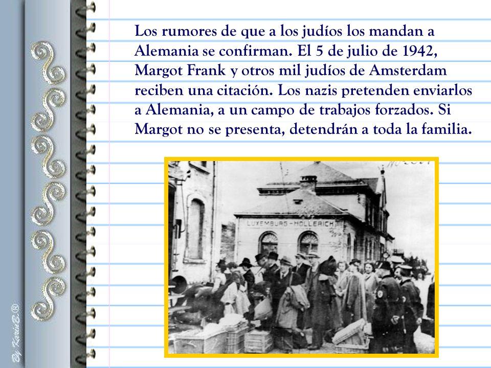 «Después de mayo de 1940, se acabaron los buenos tiempos: primero la guerra, luego la capitulación, la invasión alemana, y así comenzaron las desgracias para nosotros los judíos.» Ana Frank (frase de su libro)
