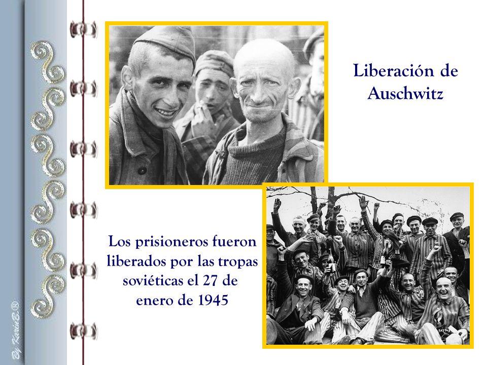 Otto Frank es liberado en Auschwitz el 27 de enero de 1945.