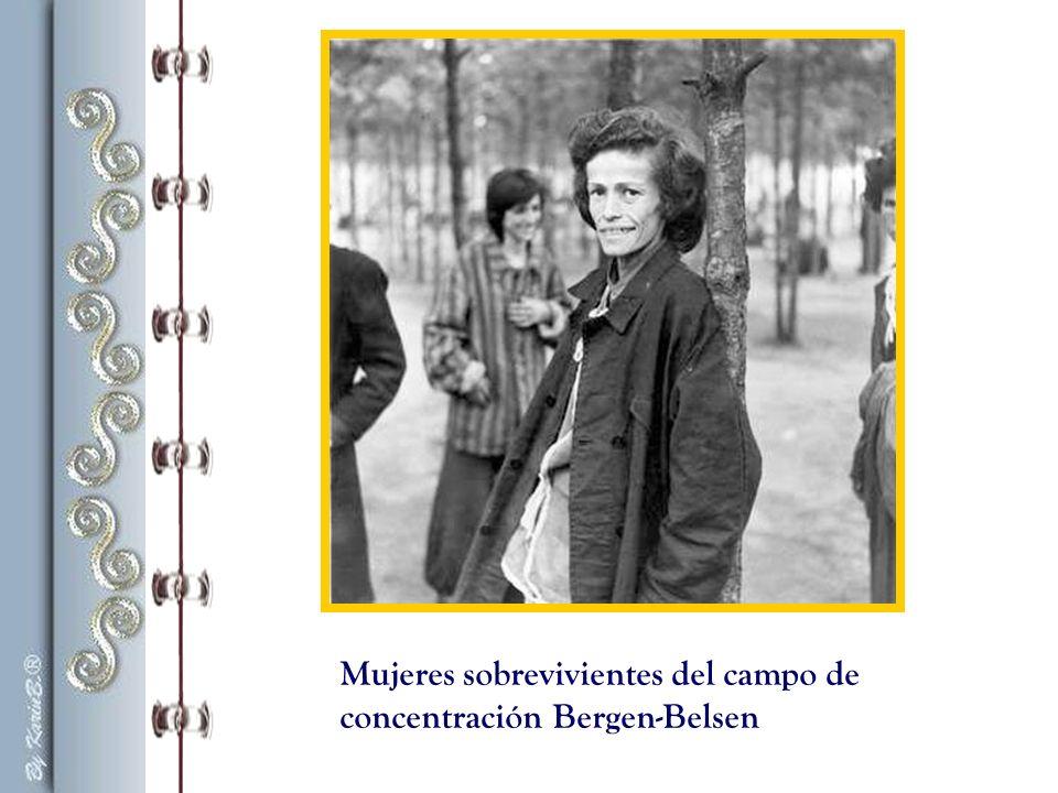 «Continuamente regresaban de los campos de concentración pequeños grupos de supervivientes y yo intentaba averiguar algo sobre Margot y Ana.