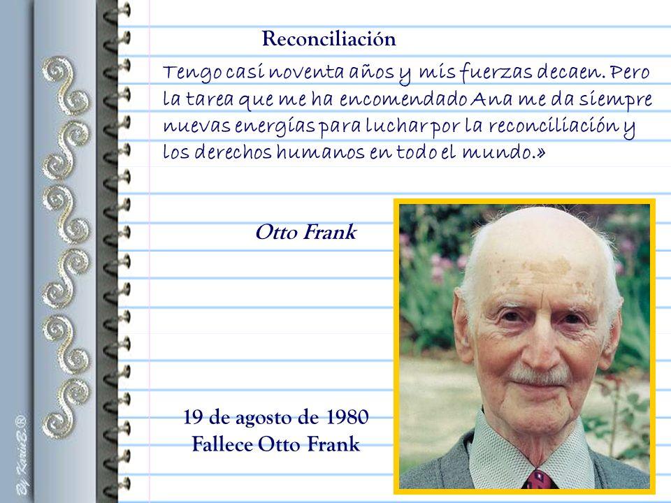 «Una vez restaurada la Casa de Ana Frank, me preguntaron si había que volver a amueblar las habitaciones.