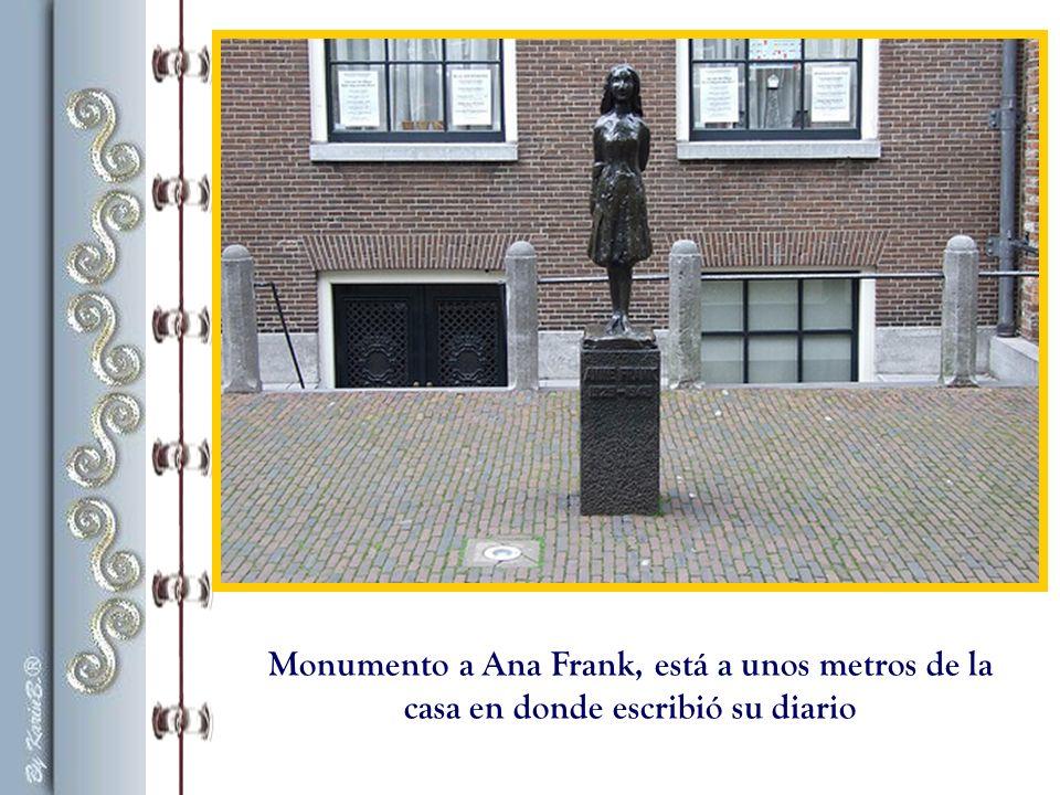 La tumba de Anne y Margot Frank se encuentra en el lugar donde estaba Bergen- Belsen