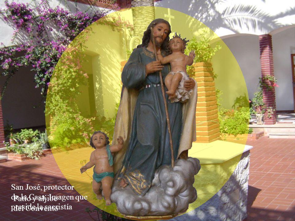 FUNDACIÓN DEL MONASTERIO El 28 de Junio de 1957, Fiesta del Sagrado Corazón de Jesús, titular de esta casa, fue inaugurado este Monasterio de Carmelitas Descalzas.