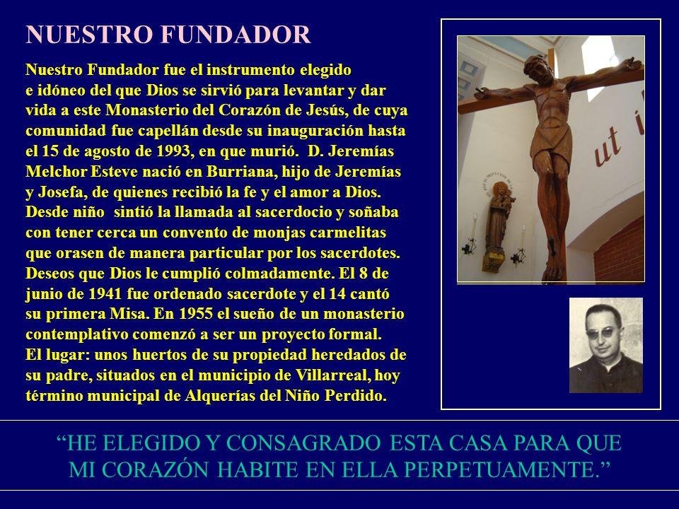 UNA PALABRA DE GRATITUD La primera palabra es de acción de gracias a Dios, por el Fundador D.
