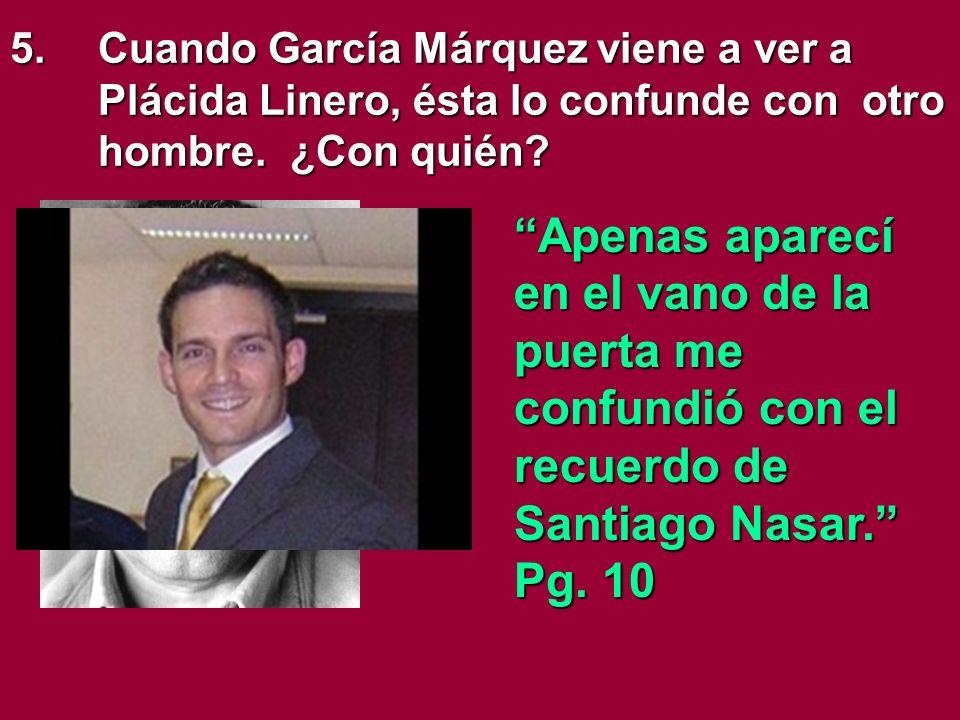 14.¿Por qué no avisa nadie a Santiago Nasar.