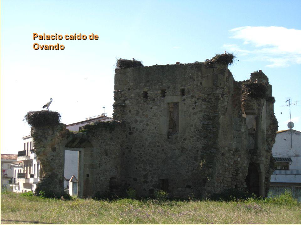 Palacio caído de Ovando