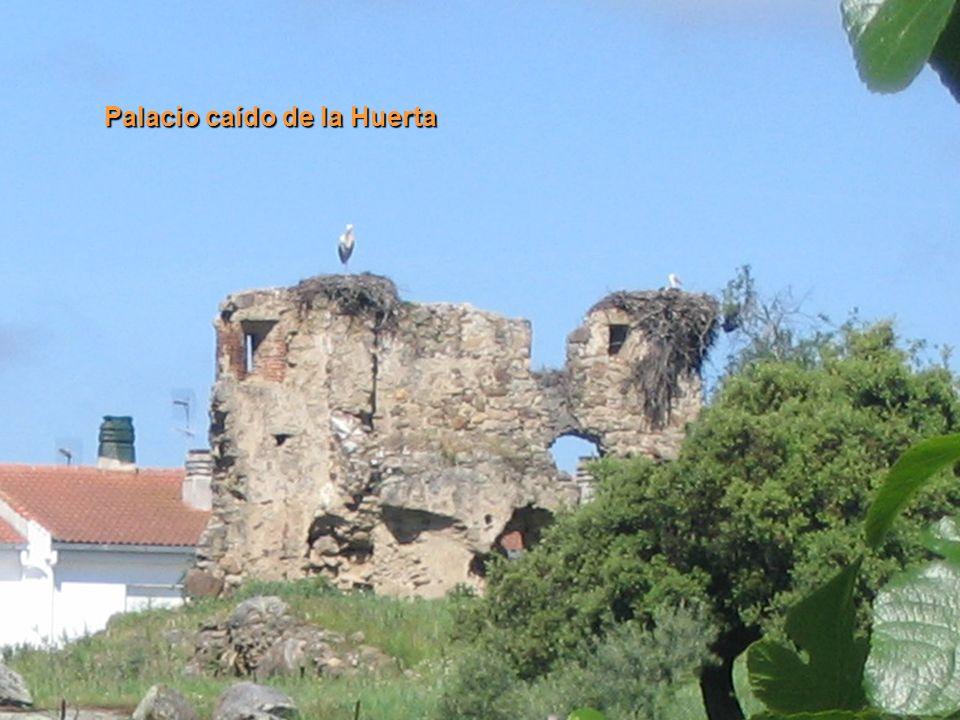 Palacio caído de la Huerta