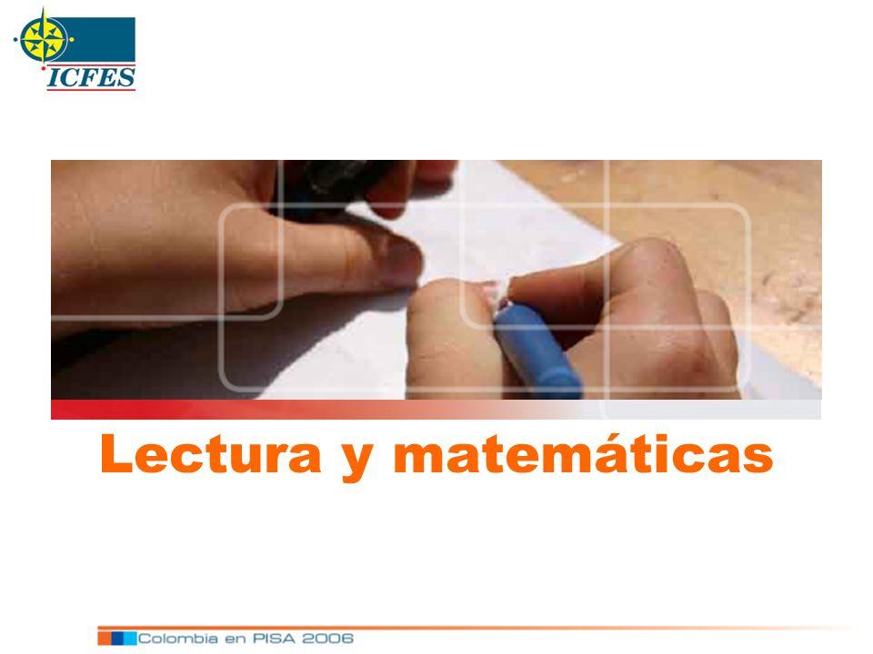 Lectura y matemáticas