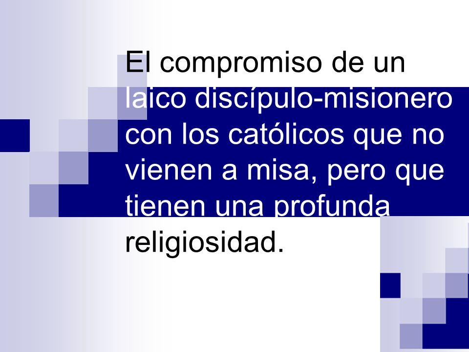 No hay discipulado sin comunión (DA 156).