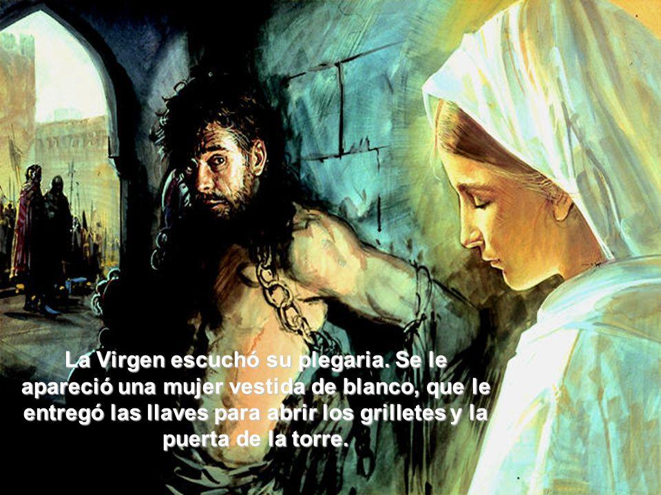 La Virgen escuchó su plegaria.