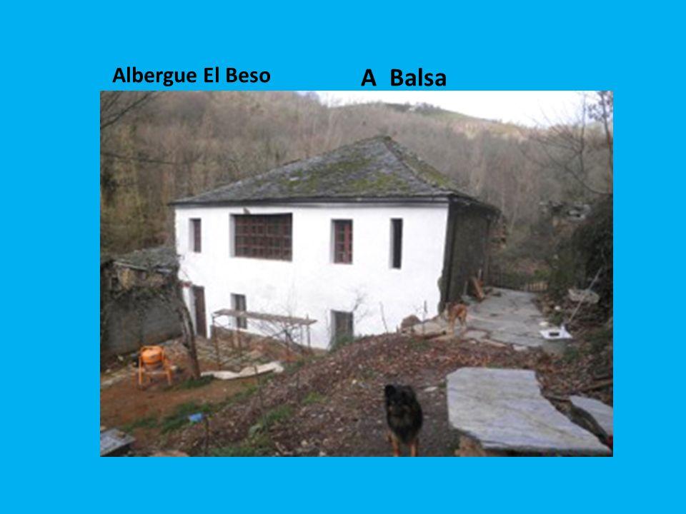 A Balsa Albergue El Beso