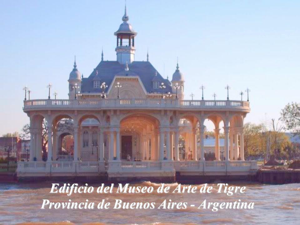 Edificio del Museo de Arte de Tigre Provincia de Buenos Aires - Argentina
