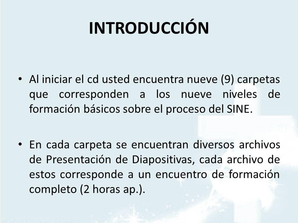 METODOLOGÍA Cada Archivo de Diapositivas trae ya la Metodología con la que se debe desarrollar el encuentro de Formación.
