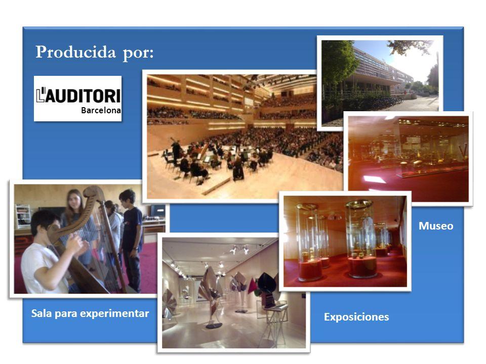 Producida por: Museo Exposiciones Sala para experimentar Barcelona