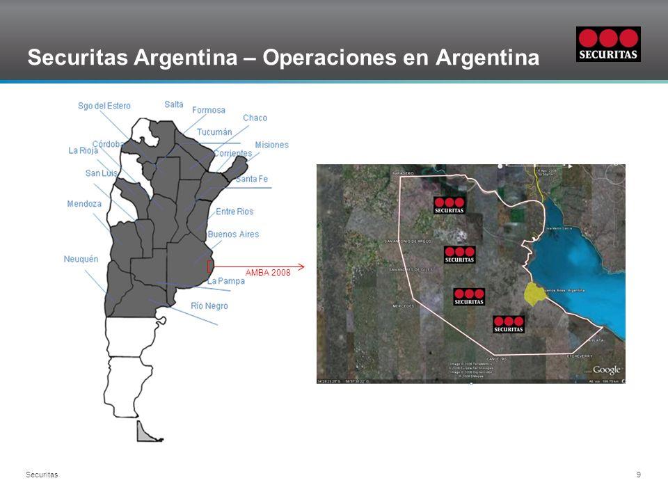 Grid Securitas Argentina – Crecimiento dotación Securitas 20 Años
