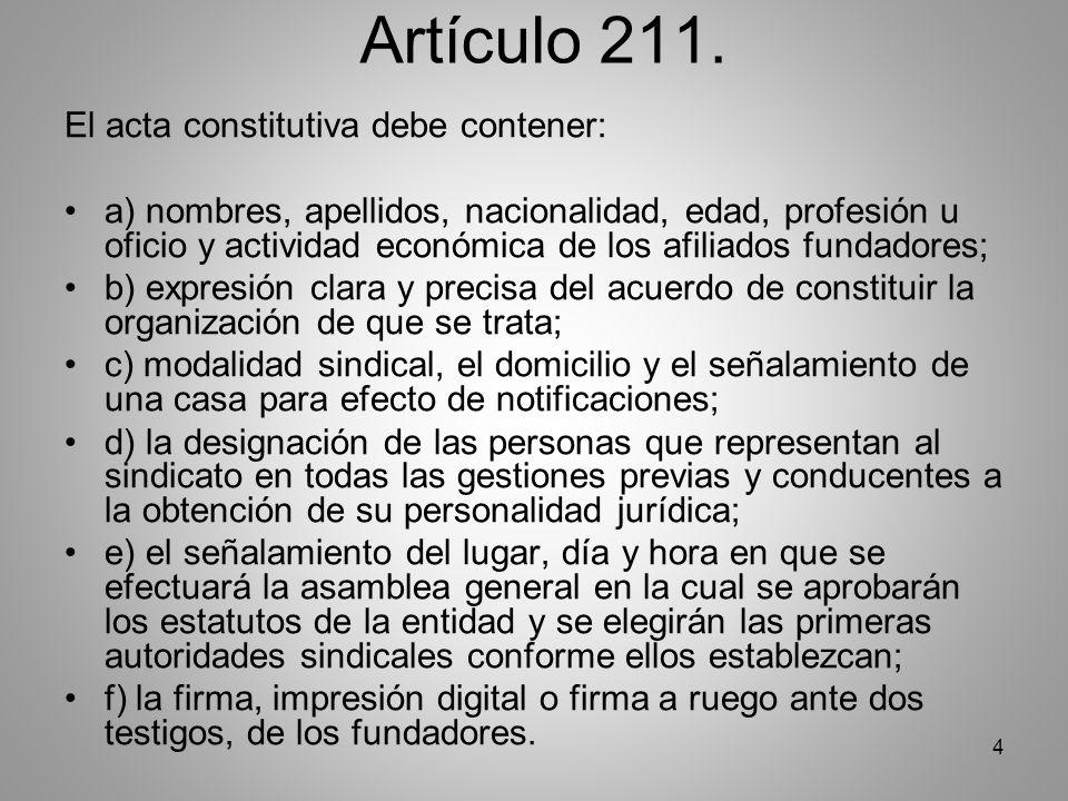 4 Artículo 211.