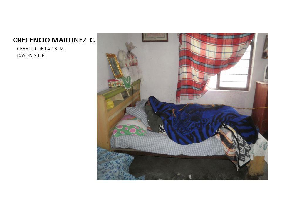 CRECENCIO MARTINEZ C. CERRITO DE LA CRUZ, RAYON S.L.P.