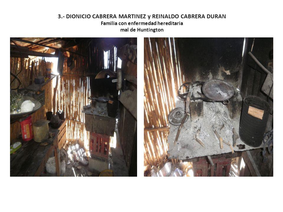 DIONICIO CABRERA MARTINEZ De 58 años aproximadamente.
