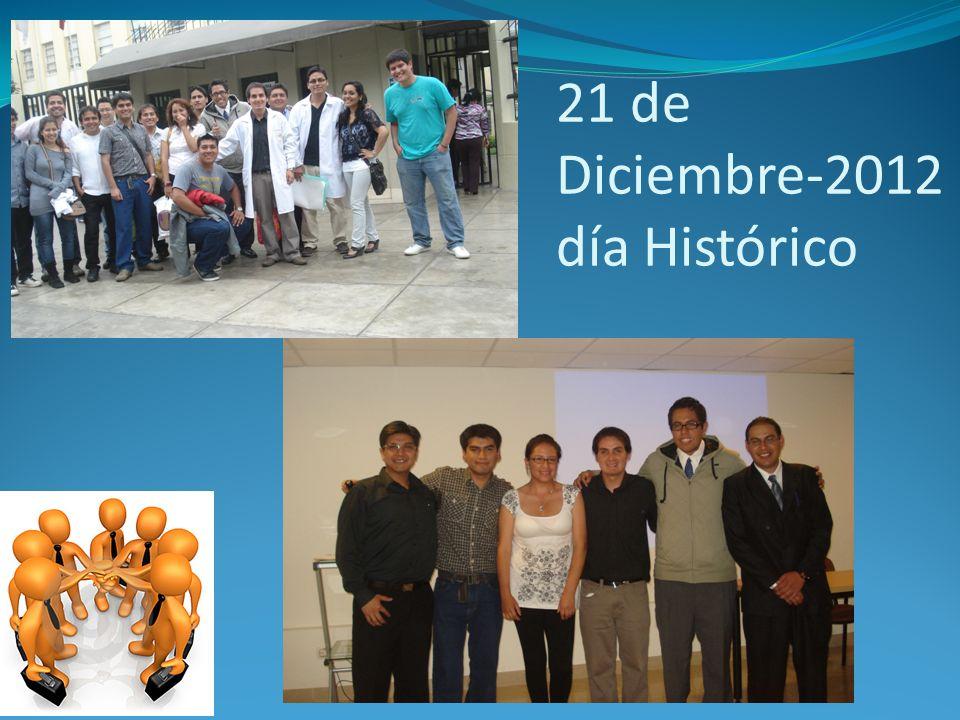 21 de Diciembre-2012 día Histórico