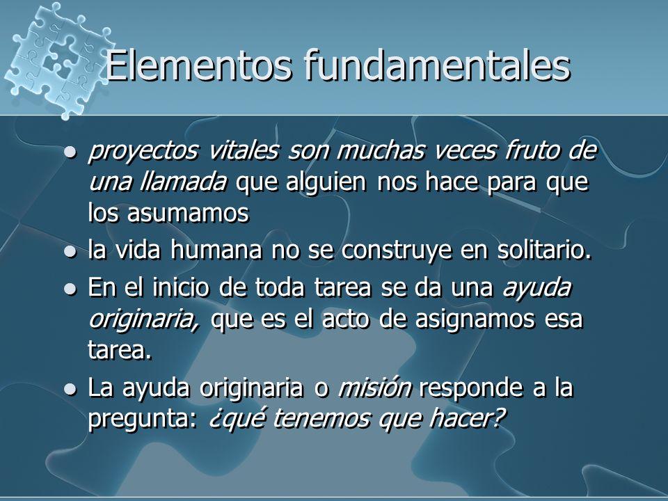 Elementos fundamentales 3) La ayuda originaria suele ir acompañada de la entrega de recursos.