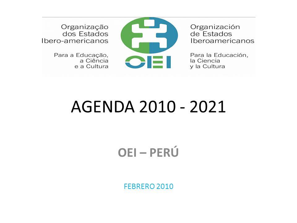 MARCO DE LA AGENDA Programas de alcance iberoamericano para: Atender problemas comunes en Educación, Cultura y CTI Reducir brechas entre los países Facilitar la cooperación y encuentro en beneficio de todos