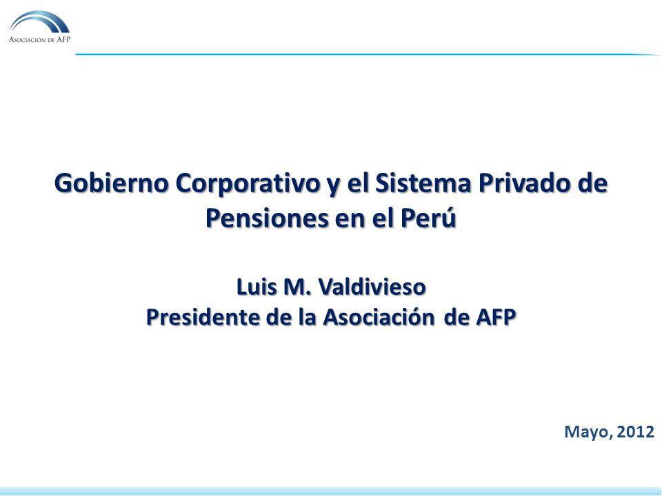 Gobierno Corporativo y el Sistema Privado de Pensiones en el Perú Luis M.