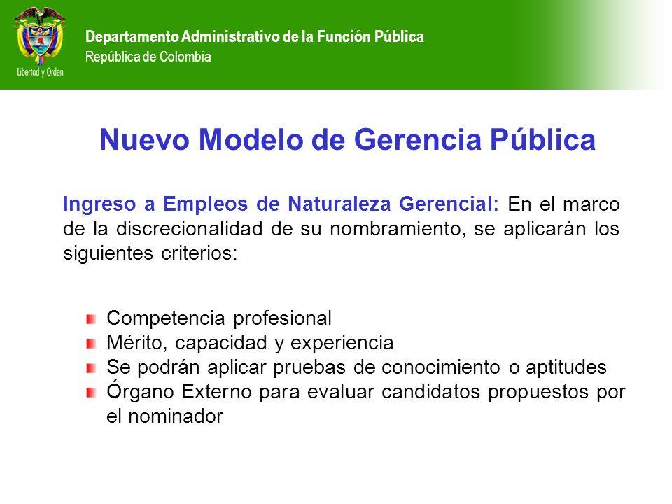Competencia profesional Mérito, capacidad y experiencia Se podrán aplicar pruebas de conocimiento o aptitudes Órgano Externo para evaluar candidatos p