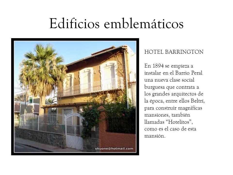 Edificios emblemáticos VILLA CALAMARI Hacia 1900 D.