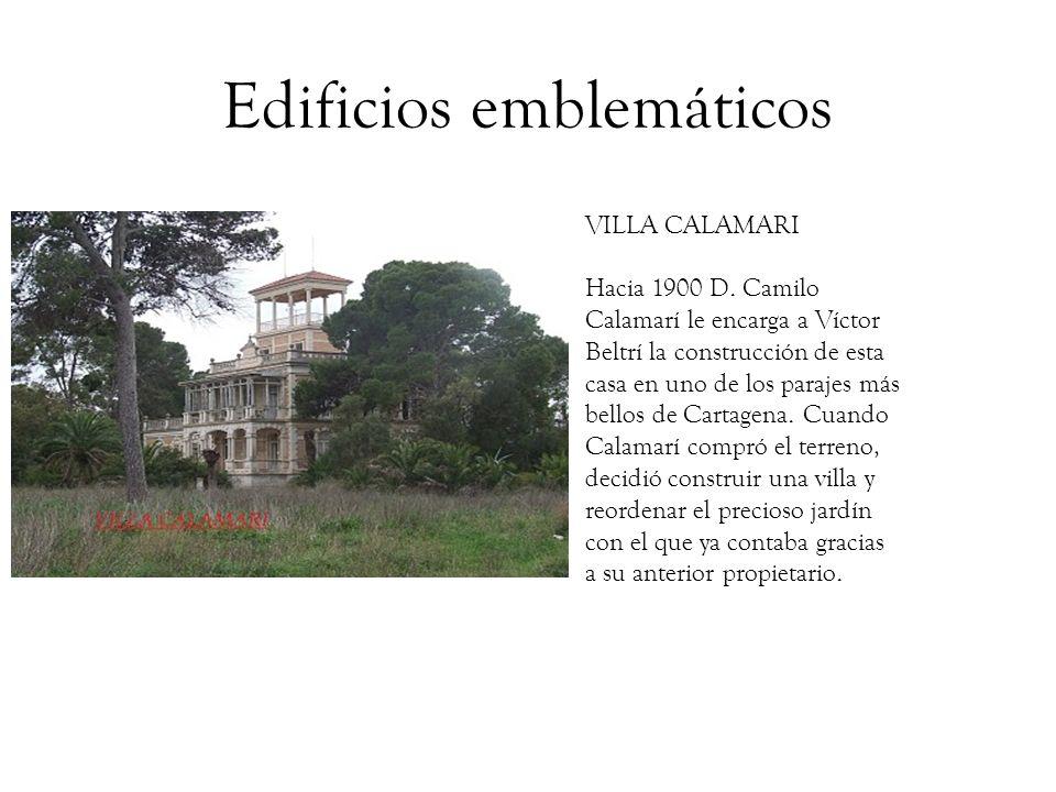 Edificios emblemáticos CASA DORDA BOFARULL En abril de 1903, Beltrí termina el proyecto de construcción de una casa de vecinos de cuatro plantas en el número 1 de la calle Palas.