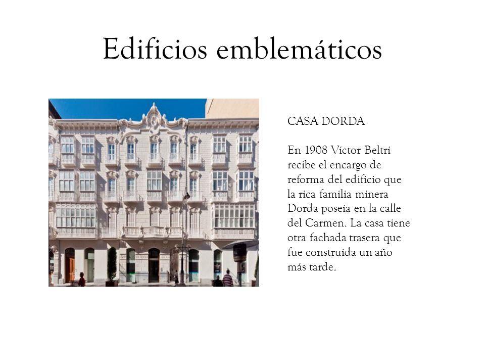 Edificios emblemáticos CASA ZAPATA En 1909 D.
