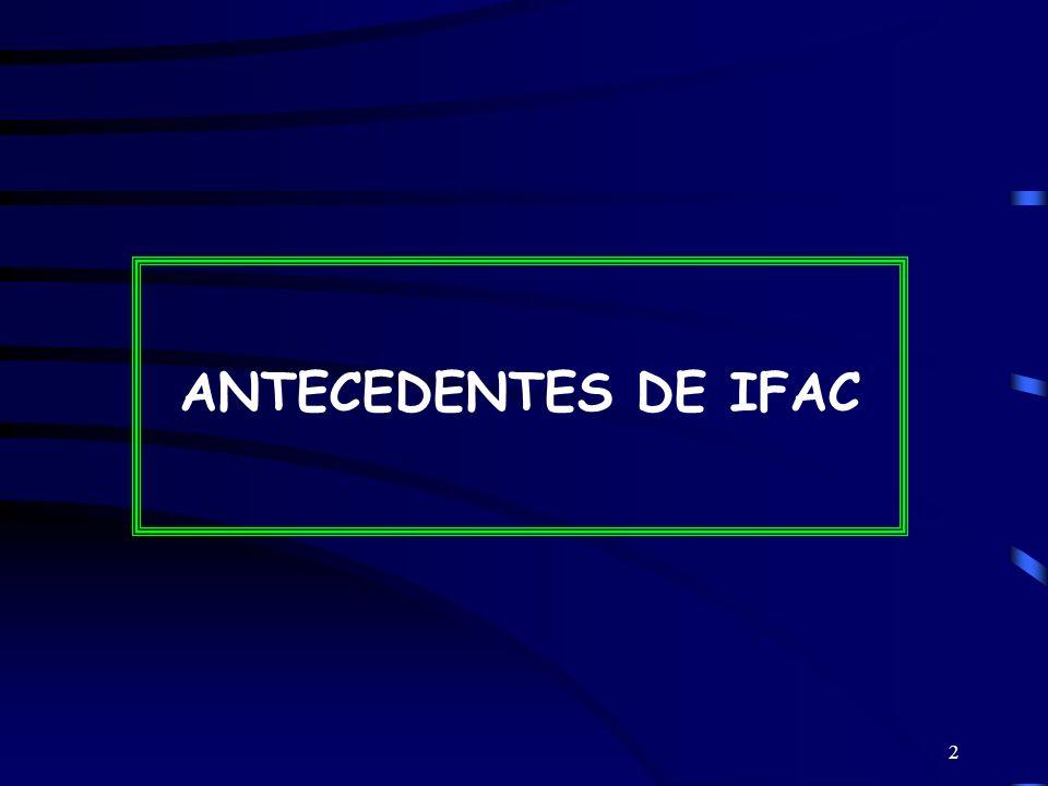 2 ANTECEDENTES DE IFAC