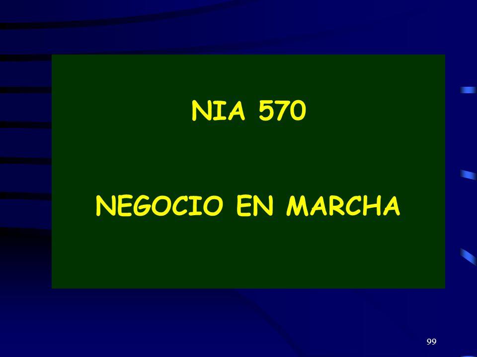99 NIA 570 NEGOCIO EN MARCHA