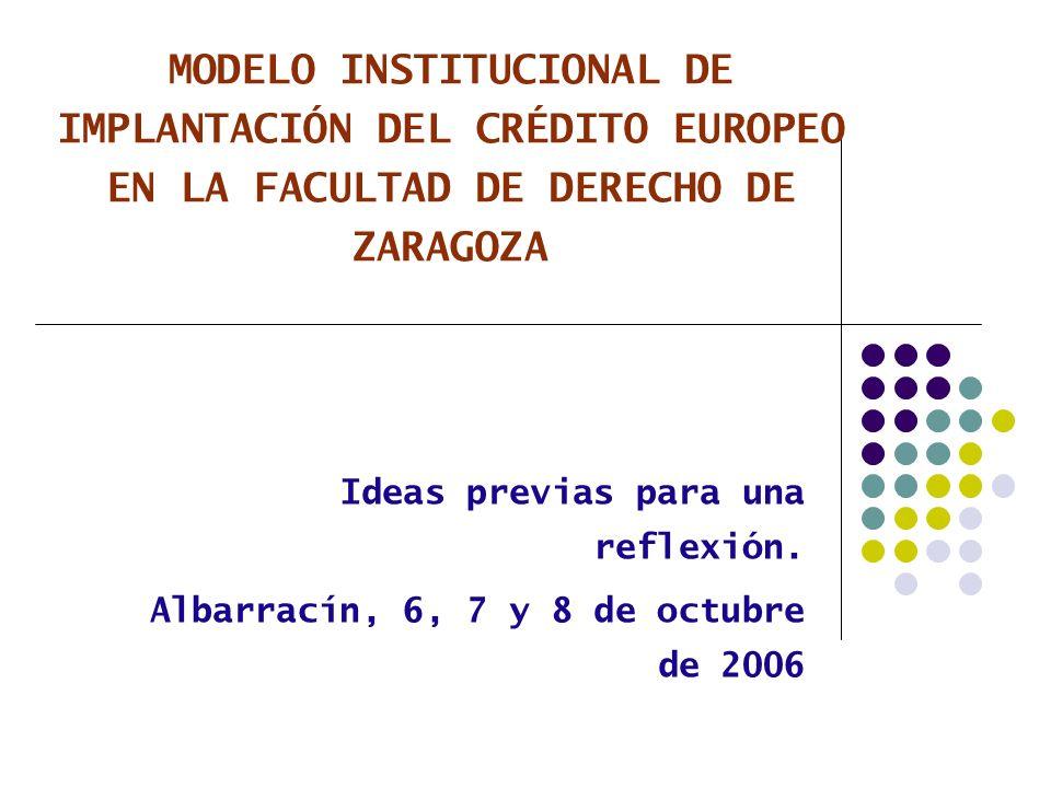 12 LA CUANTIFICACIÓN DE CADA ASIGNATURA Parámetros de referencia (art.