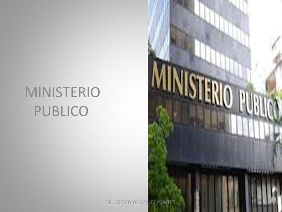 CONTROL ADMINISTRATIVO DEL PROCESO PENAL Investigación Ministerial Averiguación previa DR.
