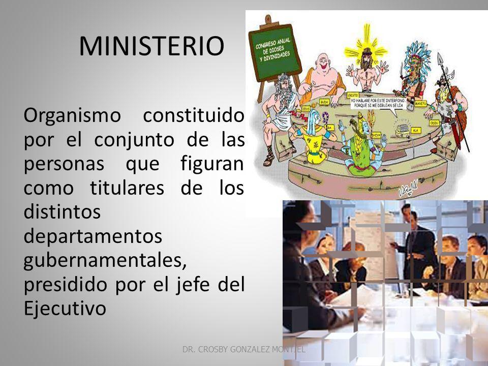 MINISTERIO PUBLICO DR. CROSBY GONZALEZ MONTIEL