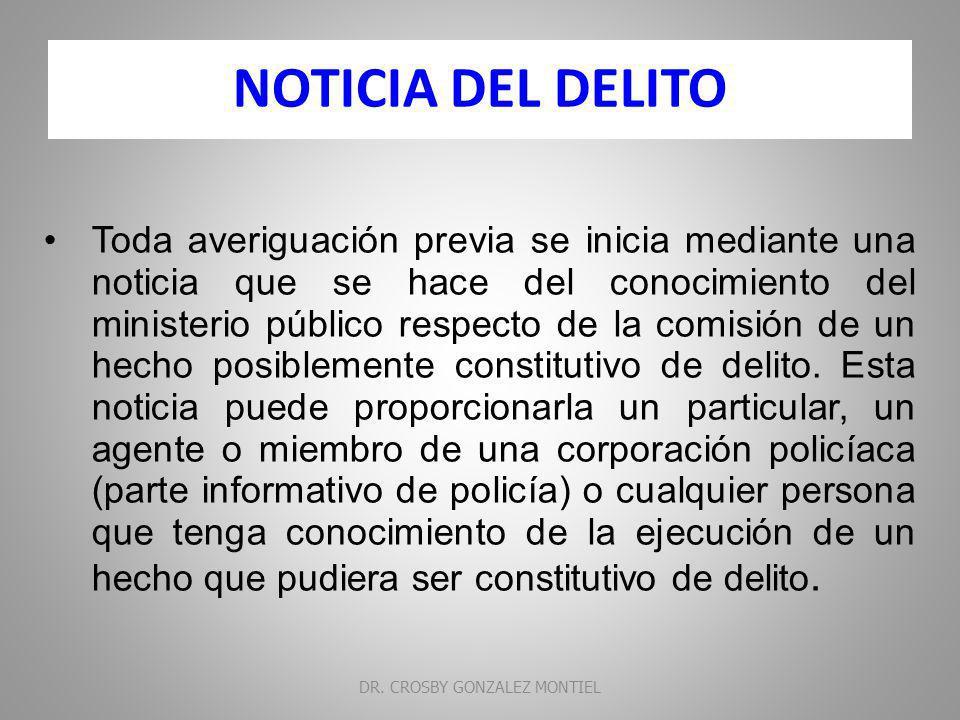 CERTIFICACIÓN: Es el acto que lleva a cabo el ministerio público respecto de un hecho del cual tiene conocimiento por razón de la investigación y sin que exista documento que lo soporte.