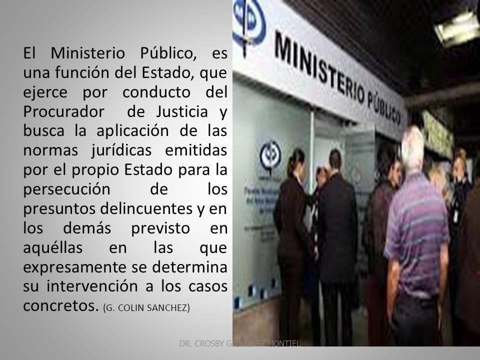 MINISTERIO Organismo constituido por el conjunto de las personas que figuran como titulares de los distintos departamentos gubernamentales, presidido por el jefe del Ejecutivo DR.