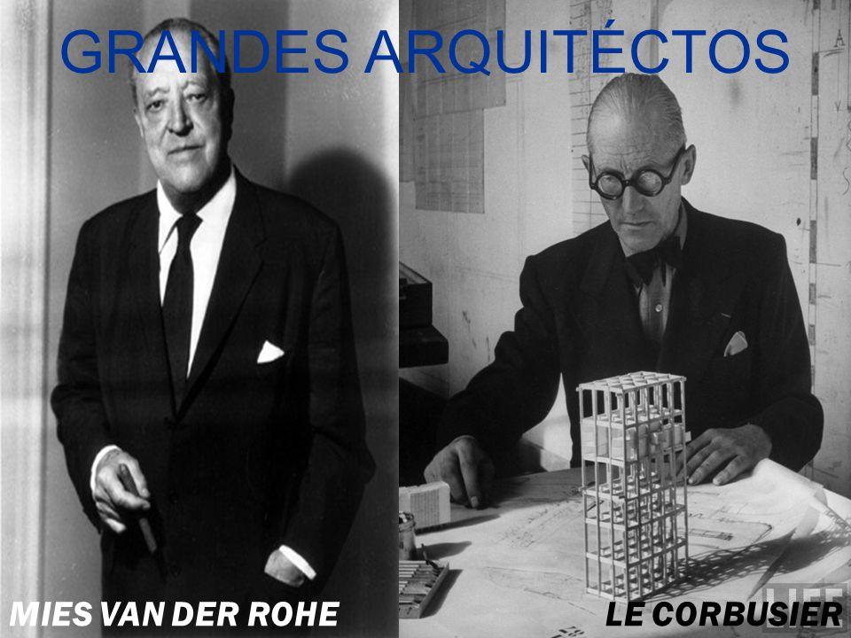 Ludwig Mies van der Rohe Fue un arquitecto y diseñador industrial alemán.