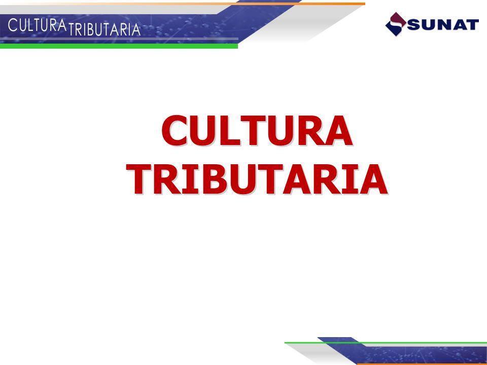 CULTURA TRIBUTARIA