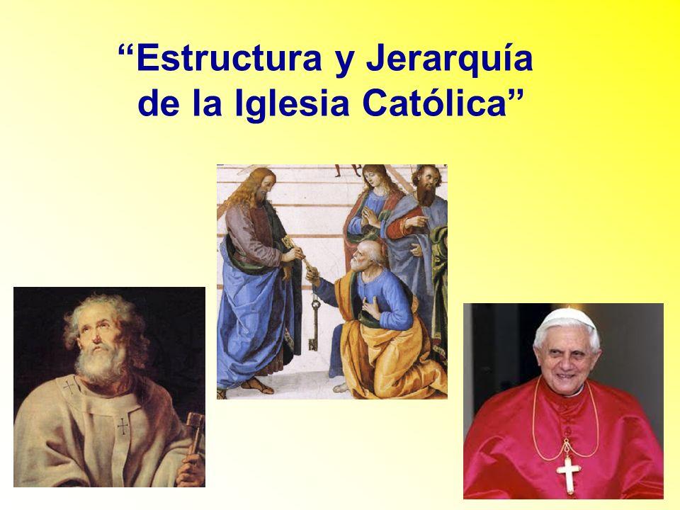 Estructura y Jerarquía de la Iglesia Católica