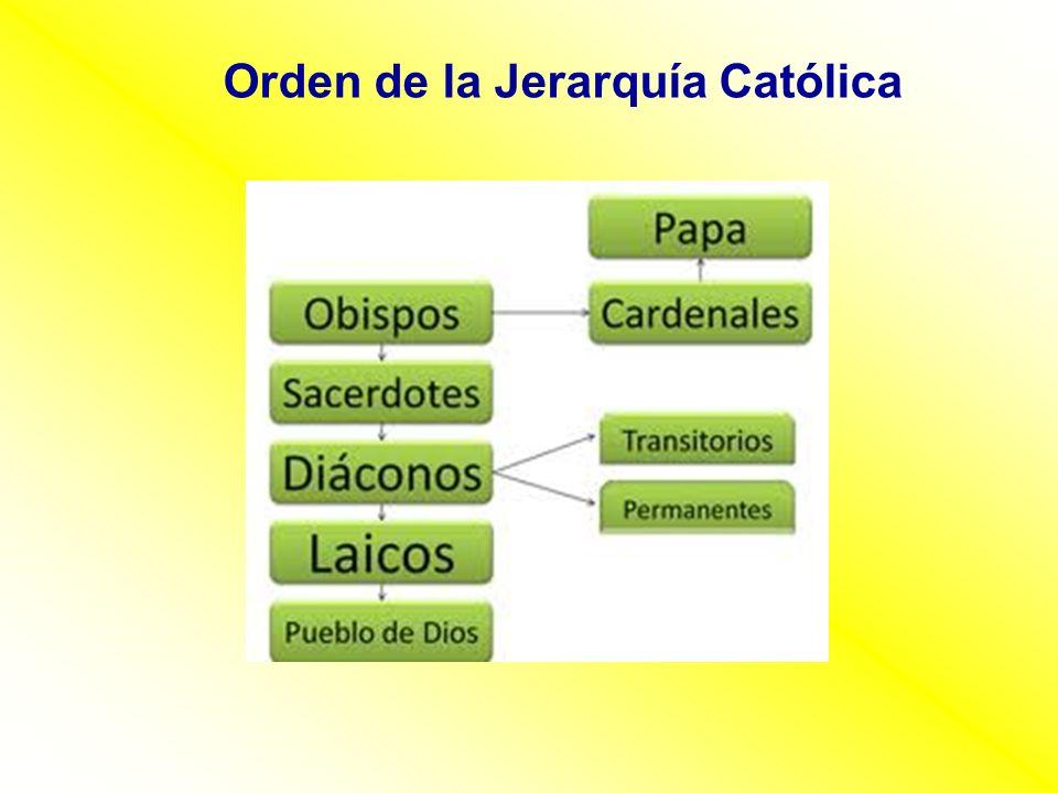 Orden de la Jerarquía Católica