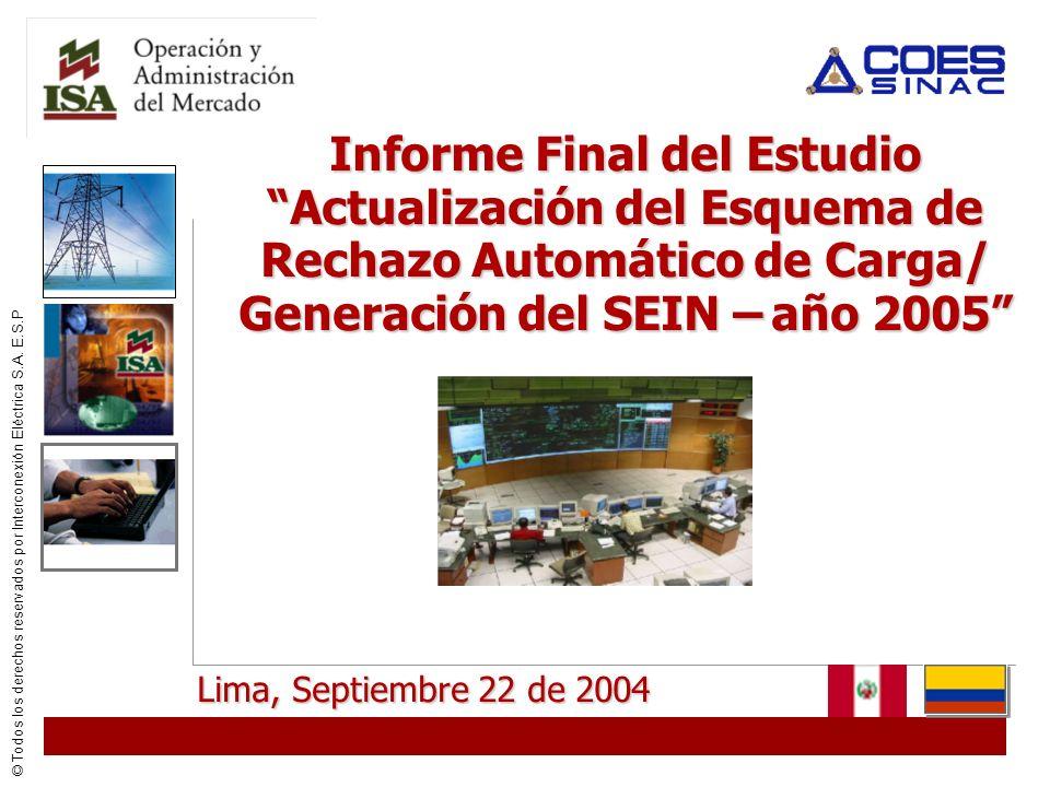 © Todos los derechos reservados por Interconexión Eléctrica S.A. E.S.P Estructura del ERCMF