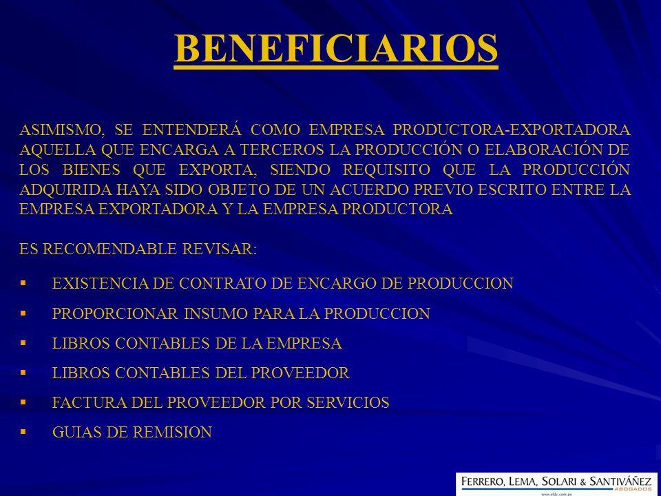 EXISTENCIA DE CONTRATO DE ENCARGO DE PRODUCCION PROPORCIONAR INSUMO PARA LA PRODUCCION LIBROS CONTABLES DE LA EMPRESA LIBROS CONTABLES DEL PROVEEDOR F