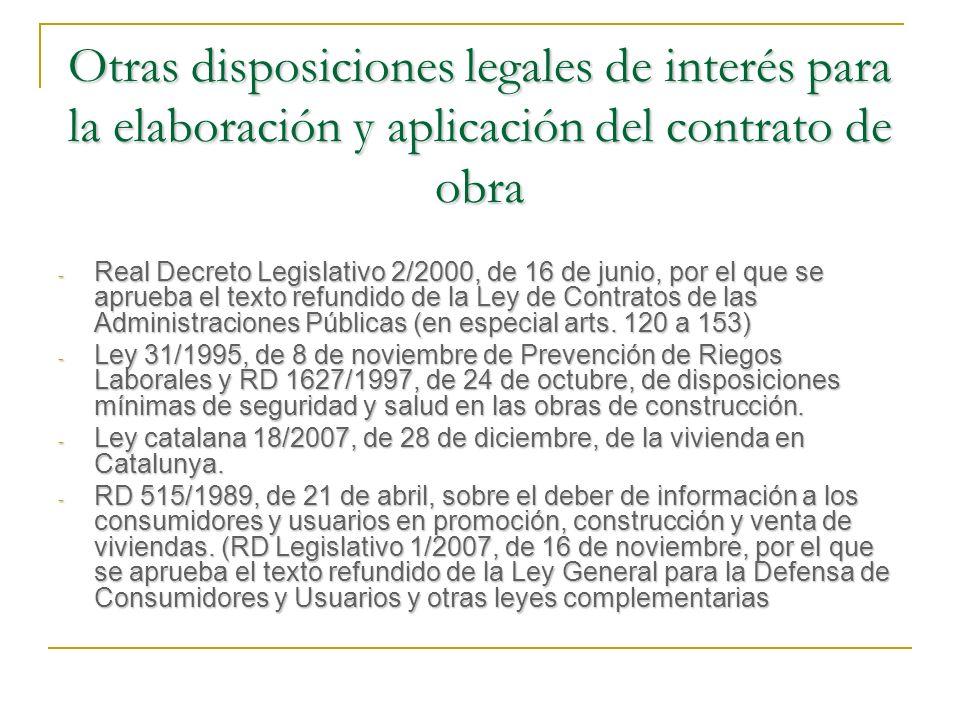GARANTÍAS DEL CUMPLIMIENTO A FAVOR DEL CONTRATISTA DERECHO DE RETENCIÓN Realización de valor del inmueble (reglas) (art.
