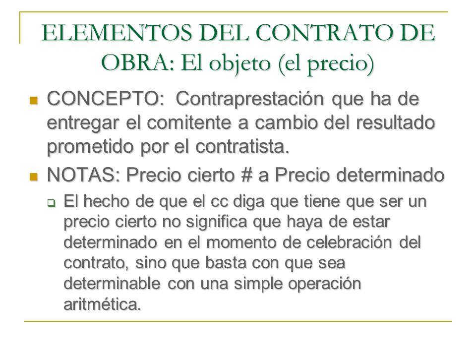GARANTÍAS DEL CUMPLIMIENTO A FAVOR DEL CONTRATISTA CRÉDITO REFACCIONARIO: Inicialmente previsto para la reconstrucción, se extiende también a la construcción Se le dota del carácter de crédito privilegiado especial (arts.
